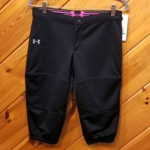 Under Armour Girls Soft Ball Pants size YLG